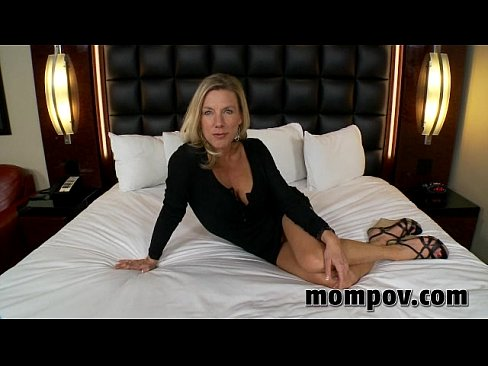 With you Blonde milf getting fucked