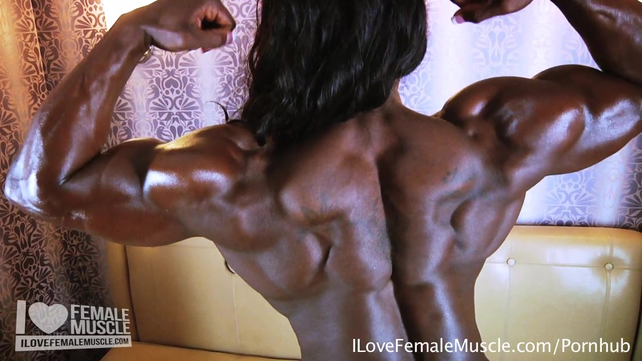 treasure muscle massive muscle dominatrix mistress treasure nude flexing 1