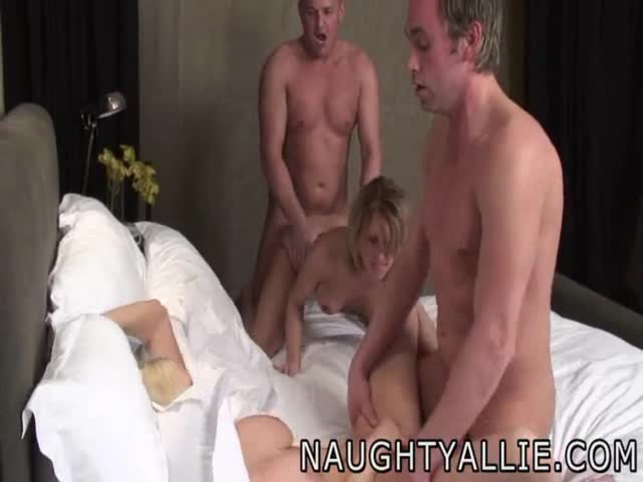 two couples swap spouses in hot foursome dessert 1
