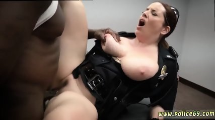 two police woman and big round ass anal milf cops