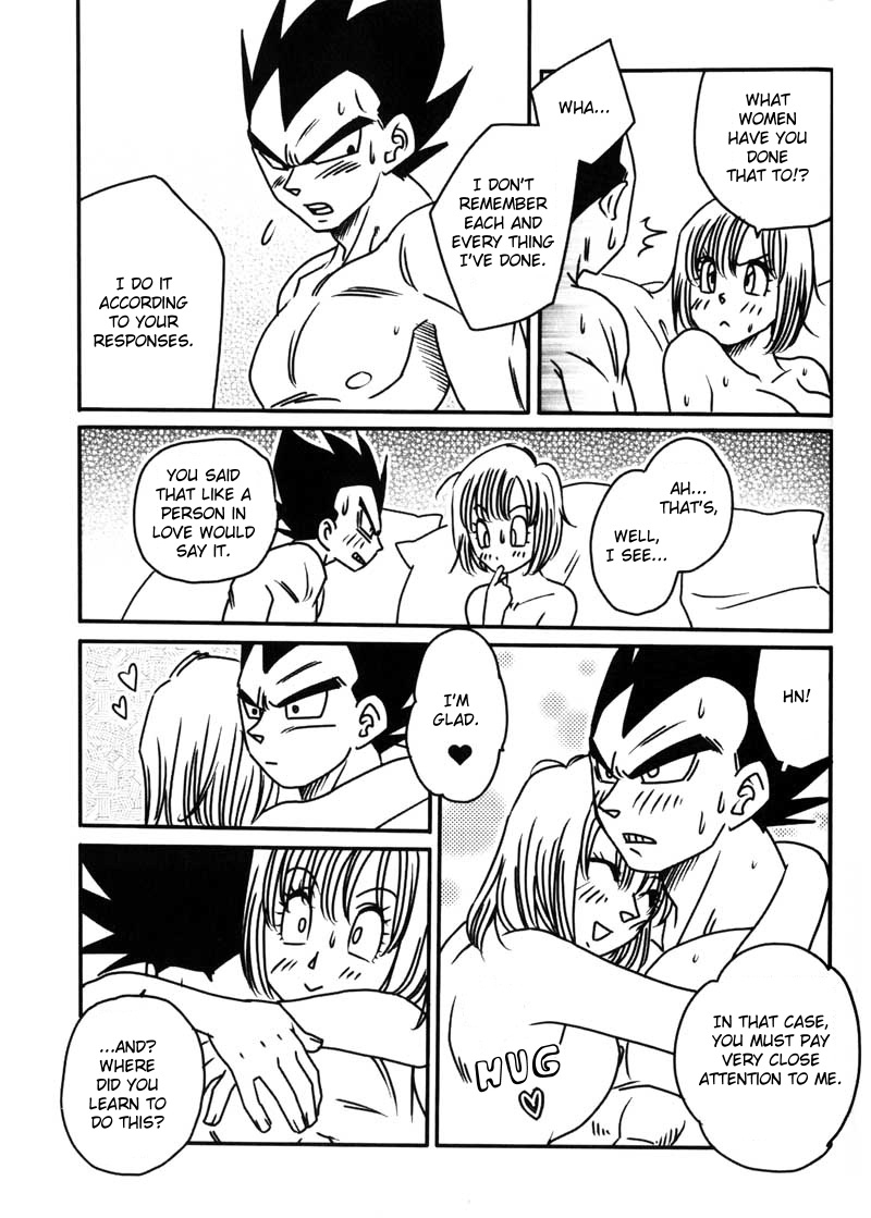 vegeta bulma love couple relationship dragon ball hentai 2