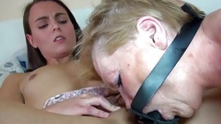 very old granny years wanks grandad with dog hot porn watch