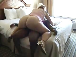 white girl with big booty rides a black cock 3