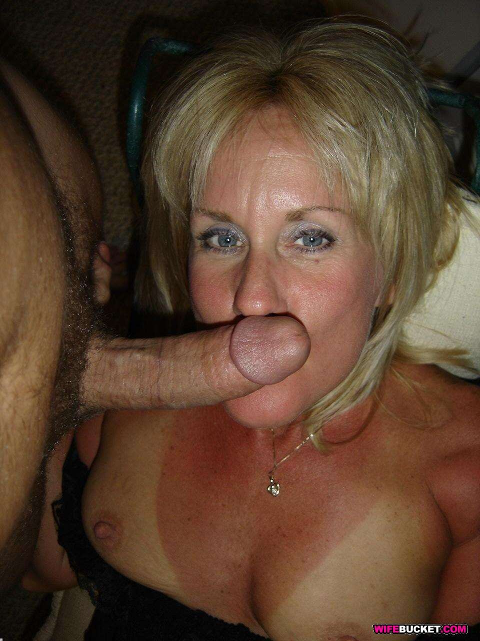 Amateur Wife Threesome Facial