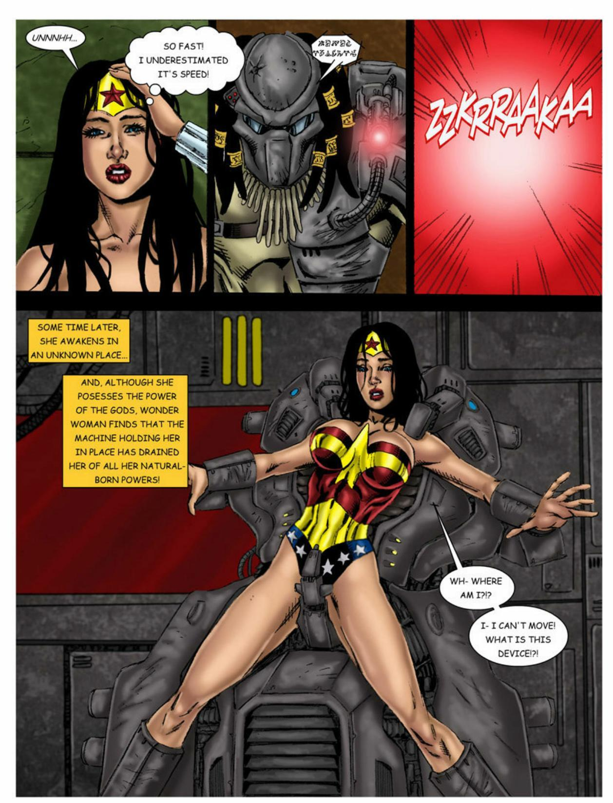 wonder woman Sexy xxx comix