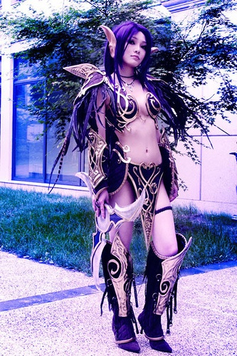 World Of Warcraft Night Elf I Have A Night Elf Have Thought About A Costume Like