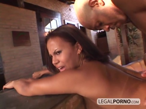 Black girl with big tits gets fucked