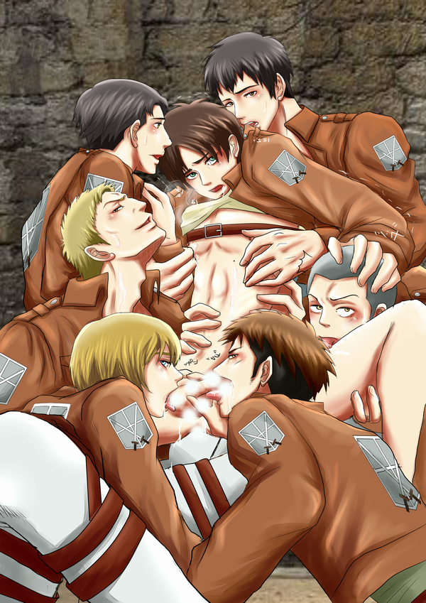 Attack on titan armin is gay