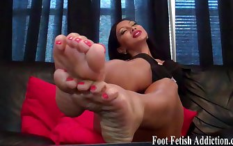 Red tube women feet sex